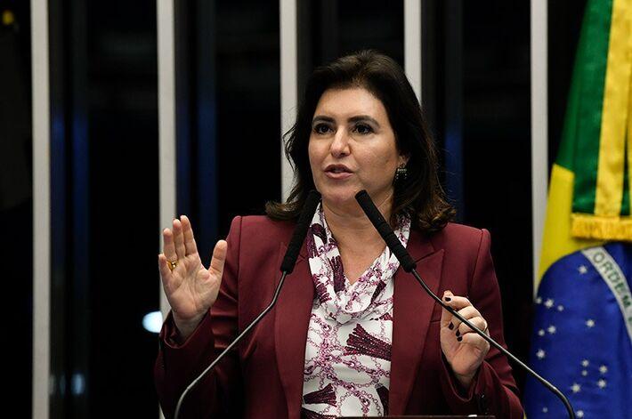 A senadora sul-mat-grossense, Simone Tebet