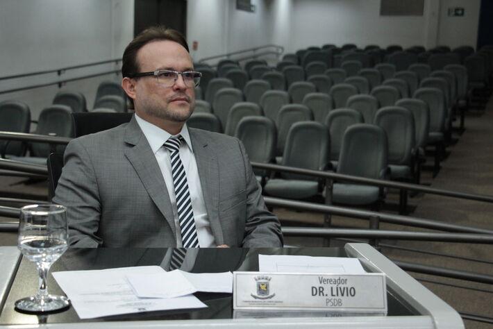 O vereador e médico oftalmologista de Campo Grande, Dr. Lívio (PSDB)