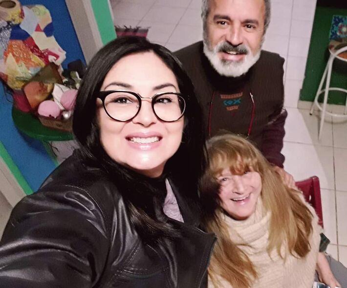 Janete Zimmermann, Sylvia Cesco e Paulo Robson de Souza