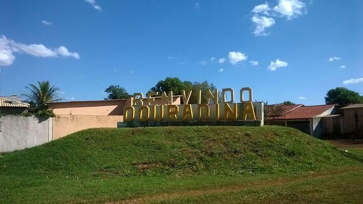 Entrada do município sul-mato-grossense onde aconteceu a violência