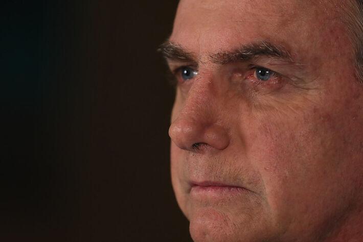 Jair Bolsonaro em pronunciamento em Rede Nacional de Rádio e Televisã