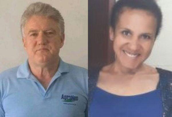 Danir Garbossa e Sandra: vítima do obscurantismo.
