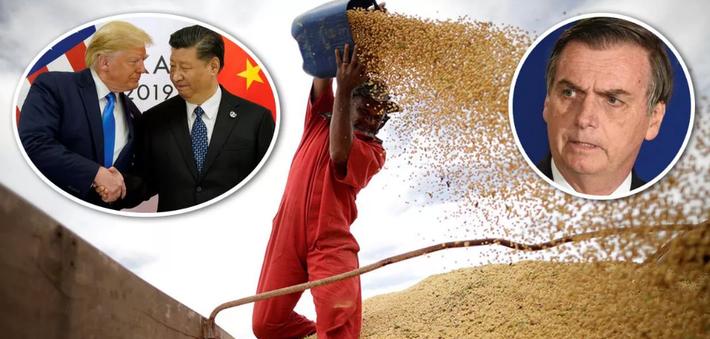 China inicia retaliação aos ataques despropositados do governo brasileiro de Jair Bolsonaro ao maior parceiro comercial do país e única nação capaz de fornecer equipamentos para o combate ao coronavírus. A primeira medida é reduzir as importações da soja