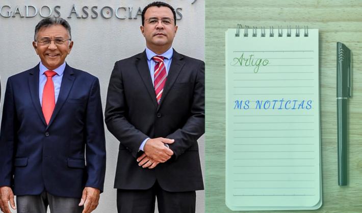 Odilon de Oliveira (juiz federal aposentado) e Adriano Magno são advogados em Campo Grande-MS