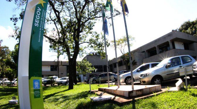 Fachada da governadoria no Parque dos Poderes em Campo Grande - MS