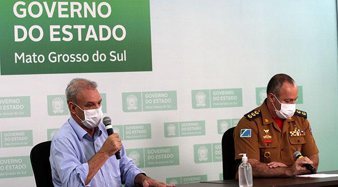 O Secretário Geraldo Resende (Saúde)