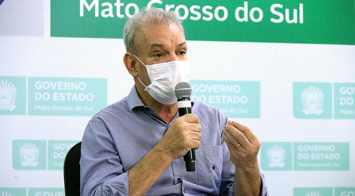 O secretário de Saúde de MS, Geraldo Resende
