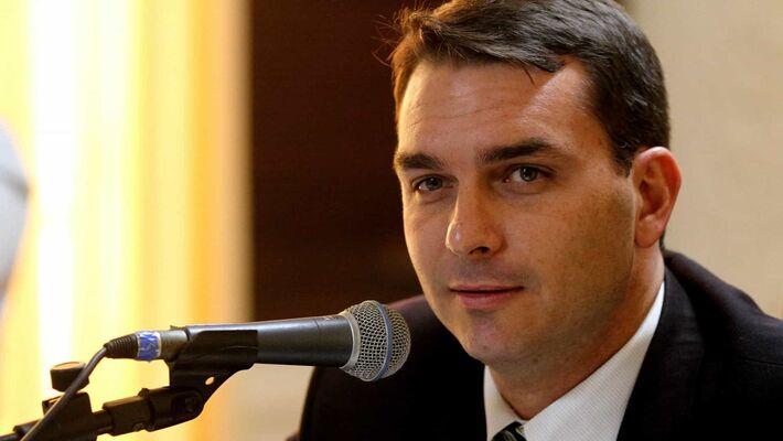 O senador Flávio Bolsonaro (Republicanos-RJ)