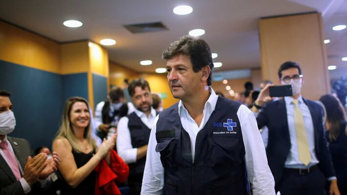 Mandetta acumulou uma série de desgastes com o presidente Jair Bolsonaro