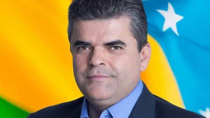 O prefeito de Duque de Caxias (RJ), Washington Reis