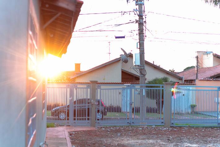 Por do Sol em Campo Grande