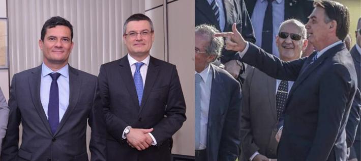 O ministro da Justiça e Valeixo trabalharam juntos da Lava Jato