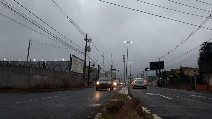Na Avenida Eduardo Elias Zahran, em Campo Grande