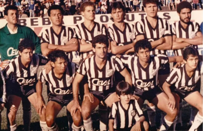 O Operário bicampeão em 1989
