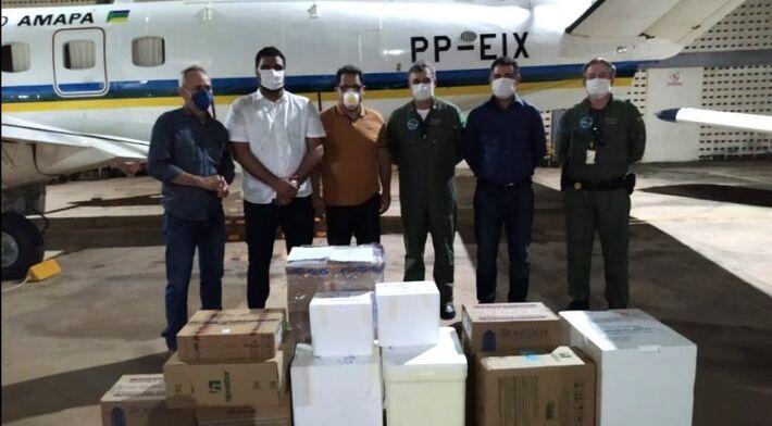 Avião de MS decolou com 4,8 mil medicamentos