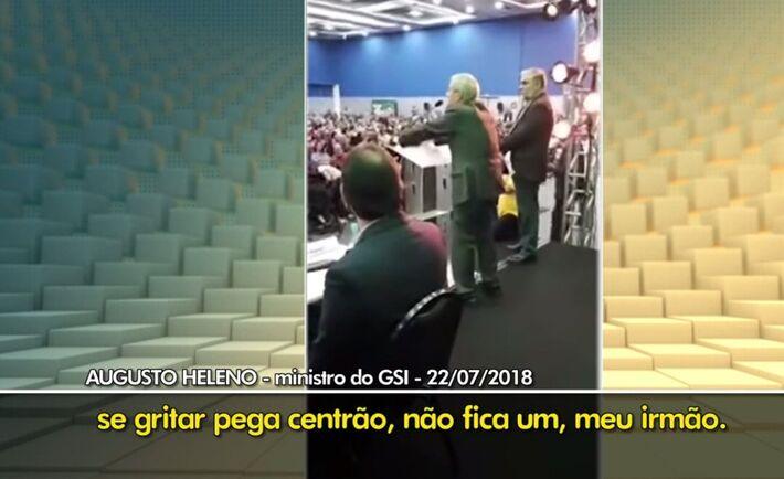 O vídeo foi resgatado para mostrar aos brasileiros a contradição do presidente Jair Bolsonaro