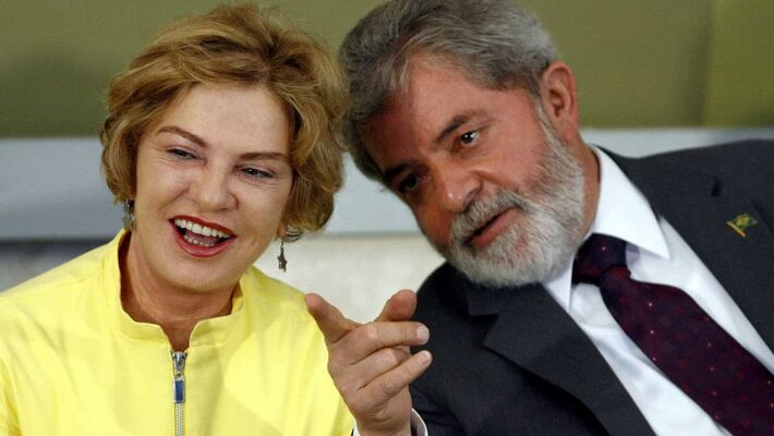 O ex-presidente Lula e a ex-primeira dama Marisa Letícia