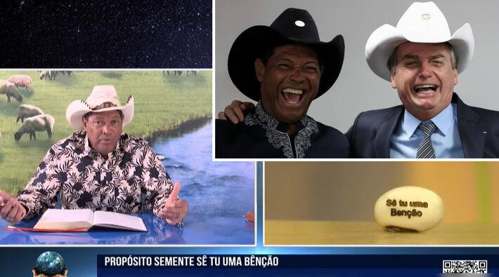 Pastor Waldemiro Santiago, Bolsonaro e a sementinha de feijão vendida a R$ 100