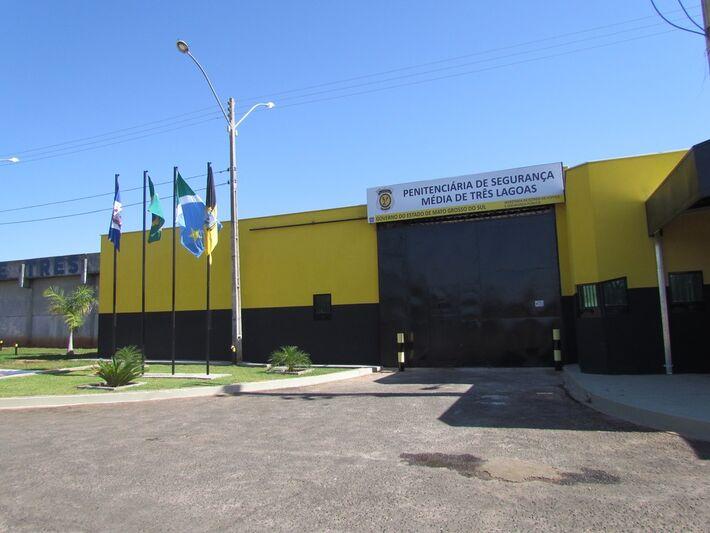 Quatro detentos fugiram nesta madrugada da penitenciária de segurança média em Três Lagoas