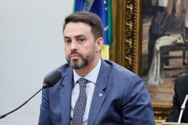 Líder do PODEMOS na Câmara, deputado Léo Moraes (RO)