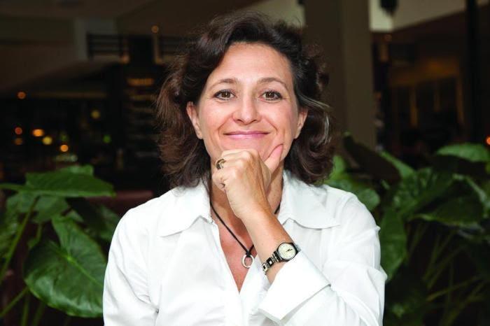 """Nutricionista e autora do livro """"O peso das dietas"""", Sophie Deram"""