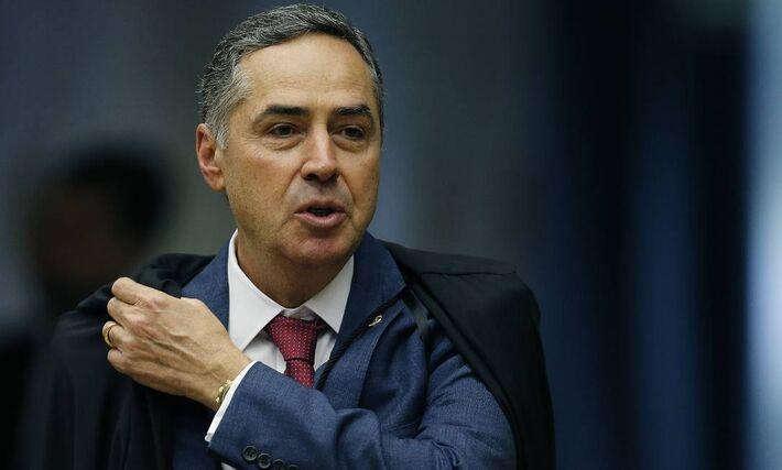 O novo presidente do Tribunal Superior Eleitoral (TSE), ministro Luís Roberto Barroso