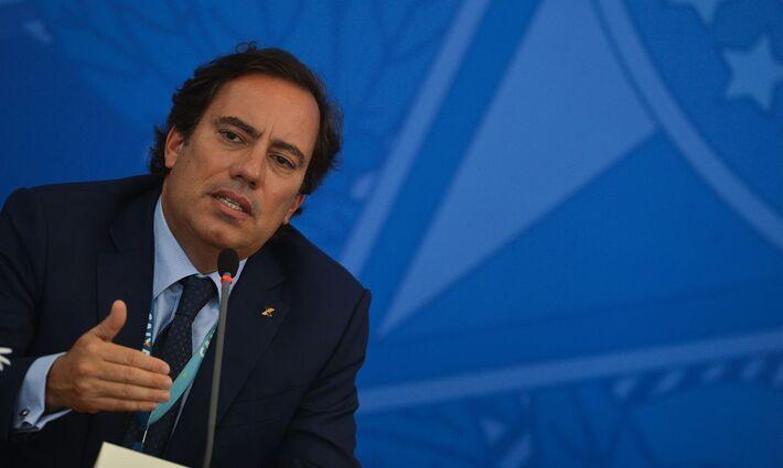 O presidente da Caixa Econômica Federal, Pedro Guimarães: extensão do auxílio emergencial só para quem já está recebendo