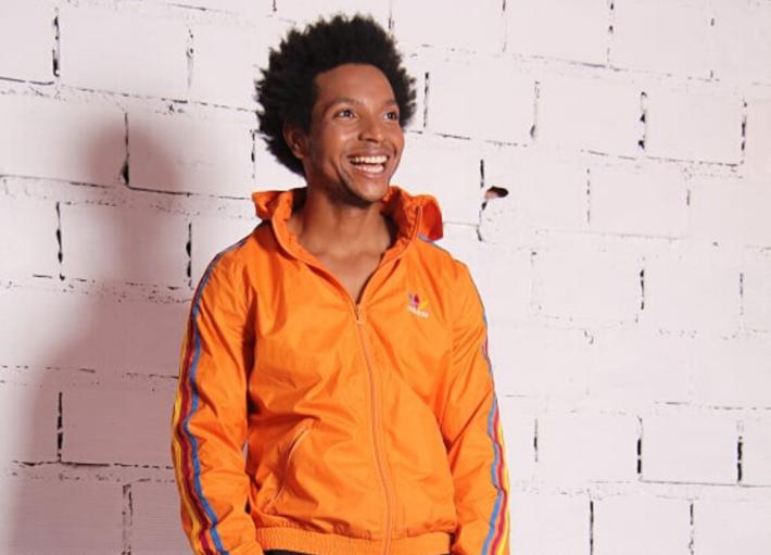 Ator, diretor e dançarino Bruno Santana, diretor artístico da Dublês & Atores. Bruno