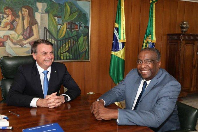 Carlos Alberto Decotelli e Jair Bolsonaro