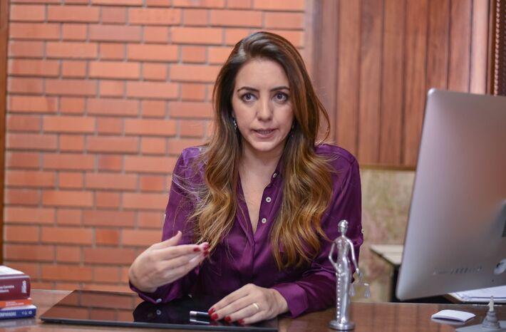 A advogada previdenciária, Penélope Del Pino Caixeta