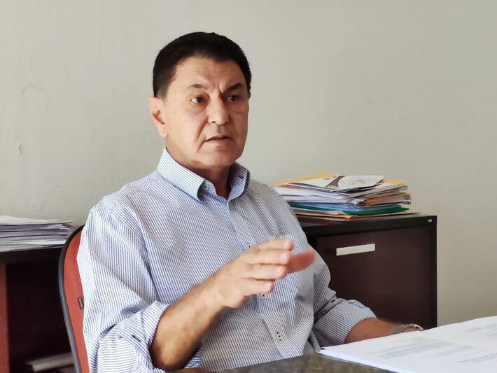 O prefeito Álvaro Urt