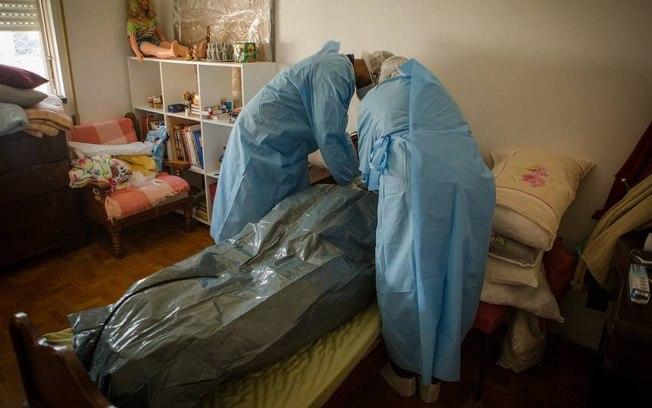 Paciente que veio a óbito pela Covid-19 no Brasil