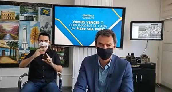 Marquinhos Trad anuncia novas medidas contra o coronavírus em Campo Grande (MS)