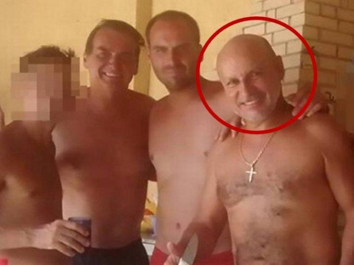 Queiroz, Jair e Flávio Bolsonaro