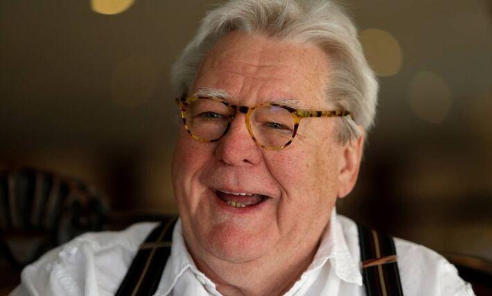 O diretor inglês Alan Parker, em 2016