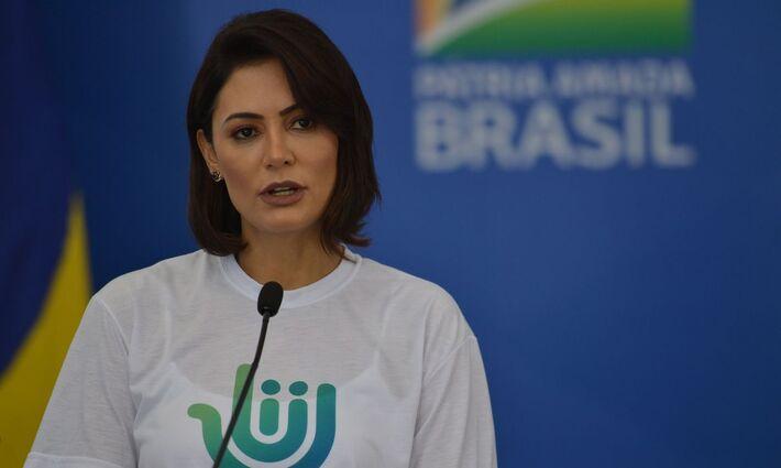 A Michelle Bolsonaro