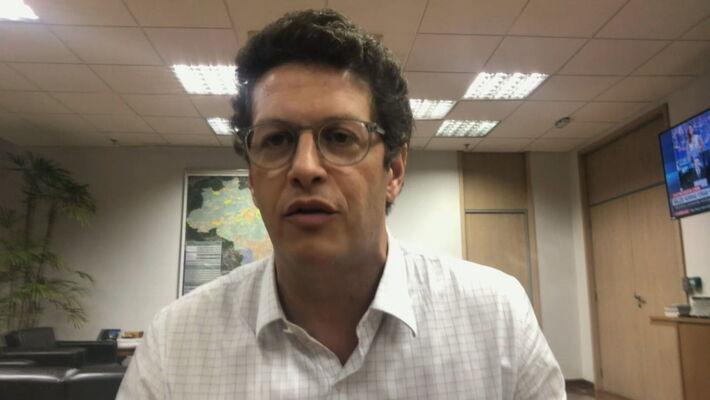 Ministro do Meio Ambiente, Ricardo Salles, em entrevista à CNN (28.set.2020)