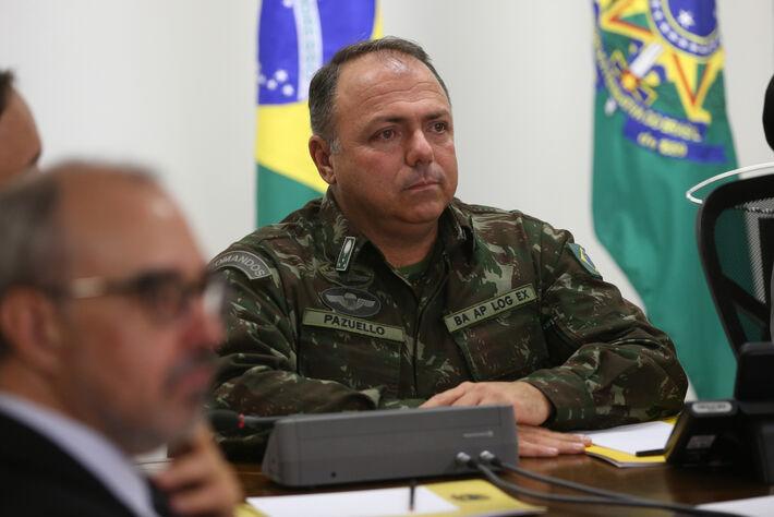 General Eduardo Pazuello, ministro interino da Saúde