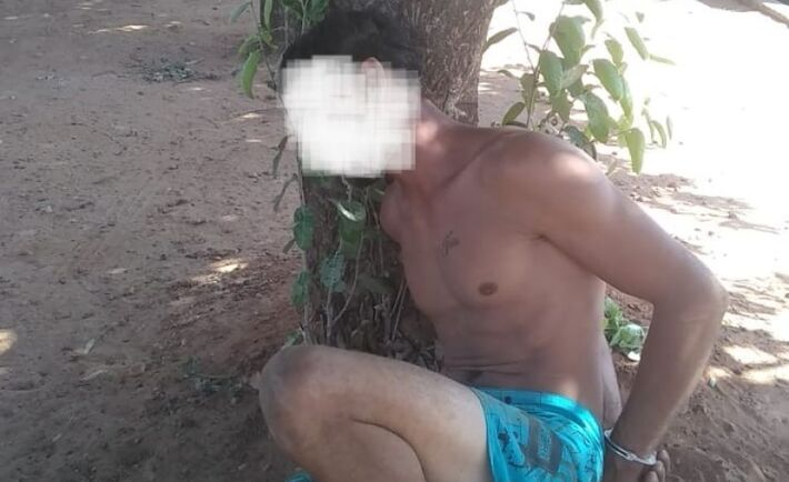 Homem é preso após violência doméstica