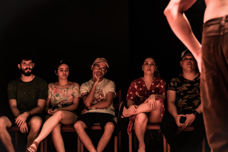 Público no espetáculo