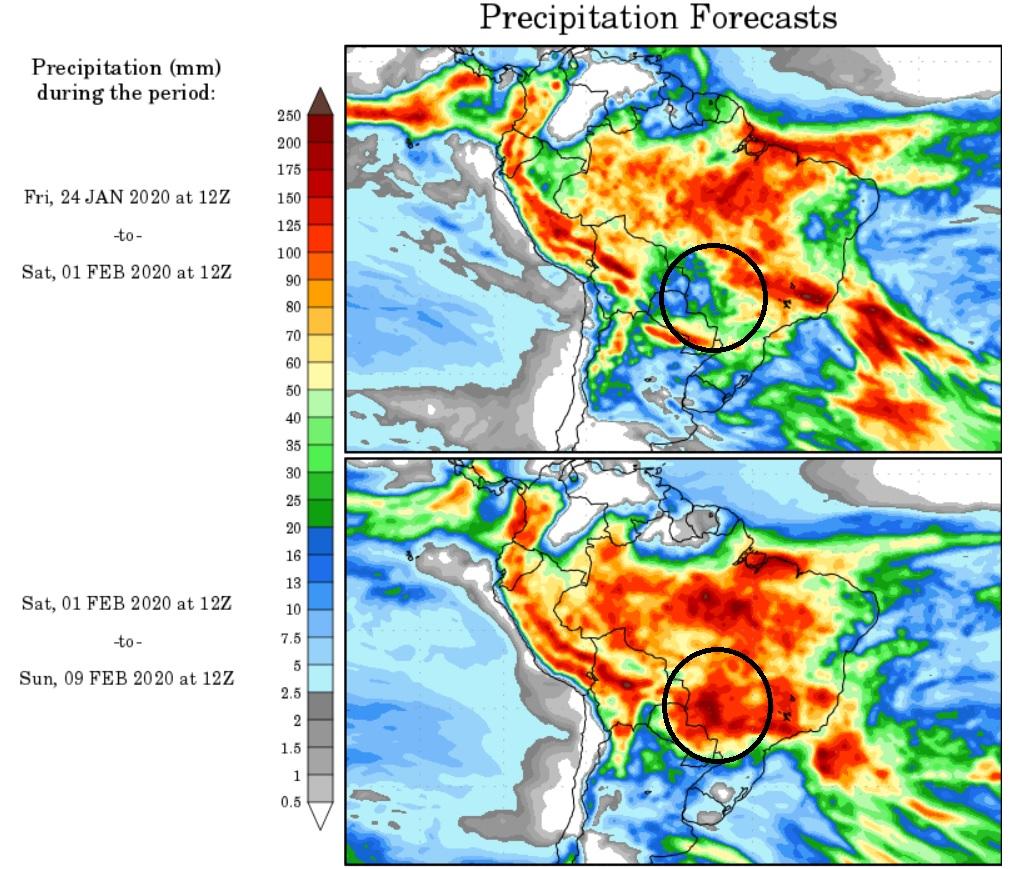 Chuvas devem ficar longe nos próximos dias   MS Notícias