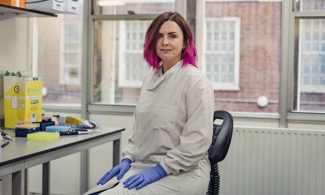 A médica Johanna Rhodes, especialista em doenças infecciosas do Imperial College London Foto: Tom Jamieson/The New York Times