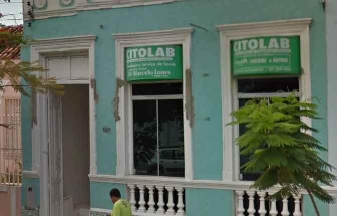 Antes de virar prefeito, Marcelo Iunes mantinha o nome em fachada de laboratório em nome da esposa e do irmão (Foto: Arquivo)