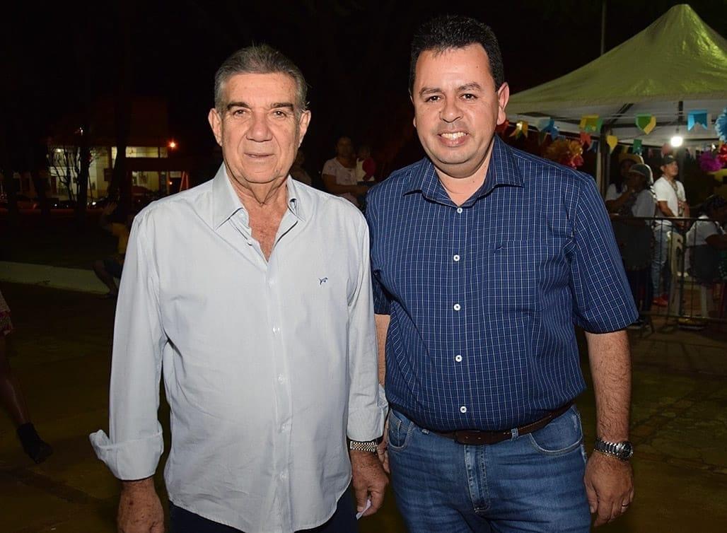 Esses são: a esquerda Maurílio Azambuja e Lenílso Carvalho