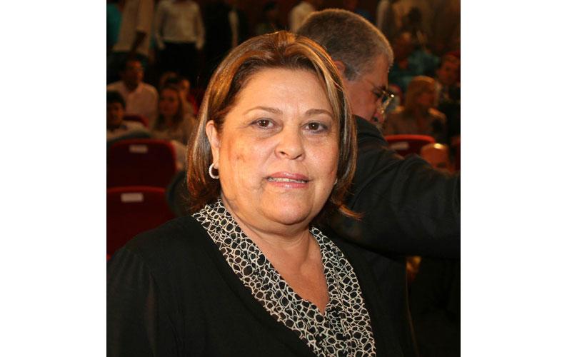Essa éIlca Corral Domingos, candidata em Nioaque.