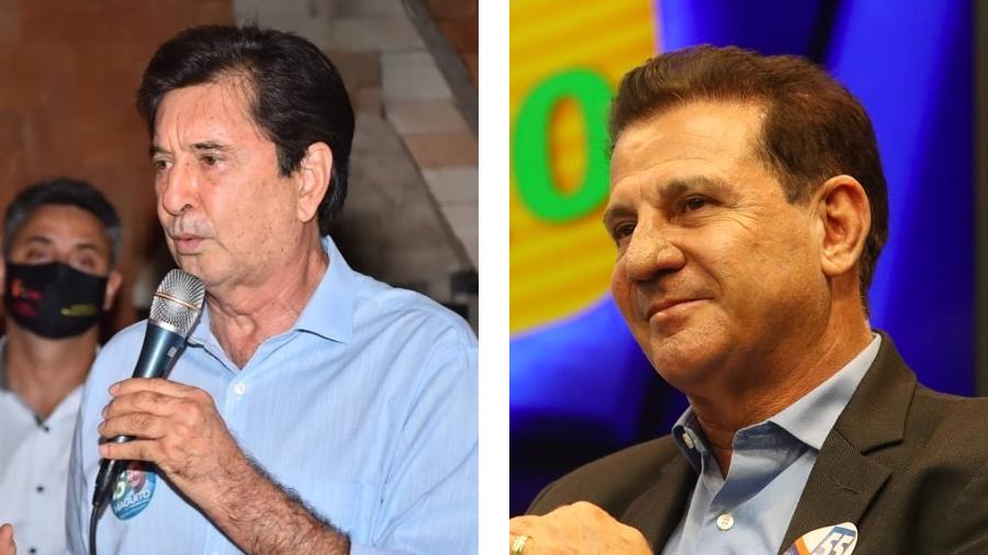 Maguito Vilela (MDB) e Vanderlan Cardoso (PSD) disputam a prefeitura de Goiânia