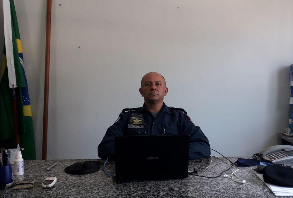 Anderson Luiz Alves Avelar,comandante da 1ª Companhia Independente de Polícia Militar em Bonito (MS)