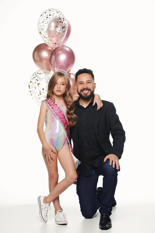 Ensaio com Paulo Filho e a pequena Aninha