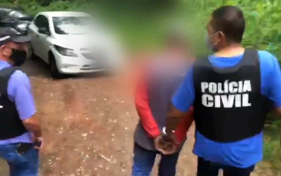 Homem é presos suspeito de agredir e provocar morte de diarista, em Aparecida de Goiânia