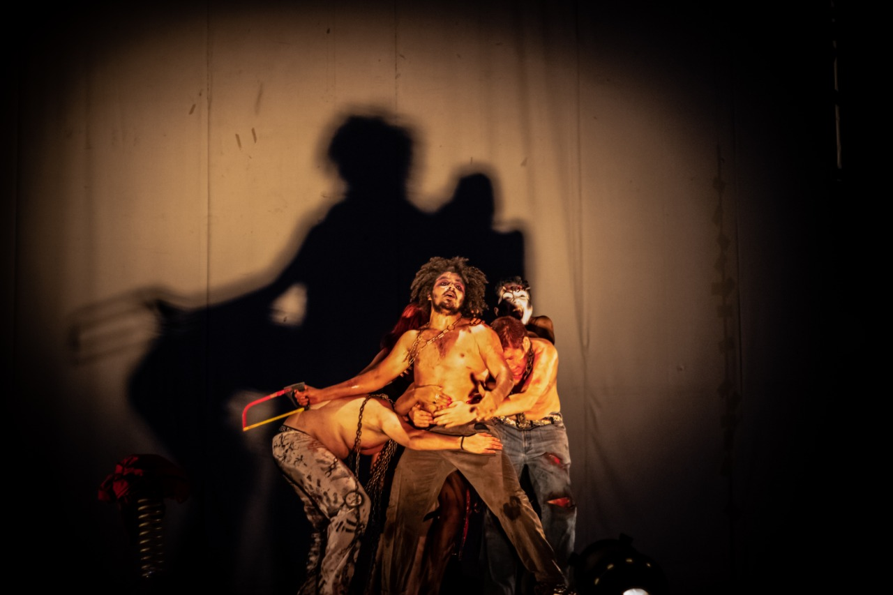 Cerebro Edgar, apresentado nesta 4ª-feira (20.jan), no teatro Glauce Rocha, na Capital
